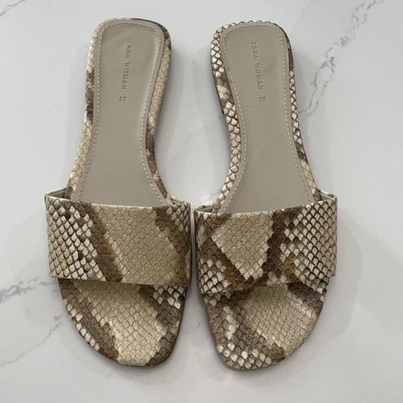 Zara Sandals 38